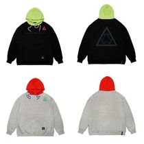 STIGMAのTRIANGLE OVERSIZED HEAVY SWEAT HOODIE 全2色