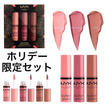 ☆ NYX ☆ Love Lust Disco Sweet Butter Gloss 3本セット