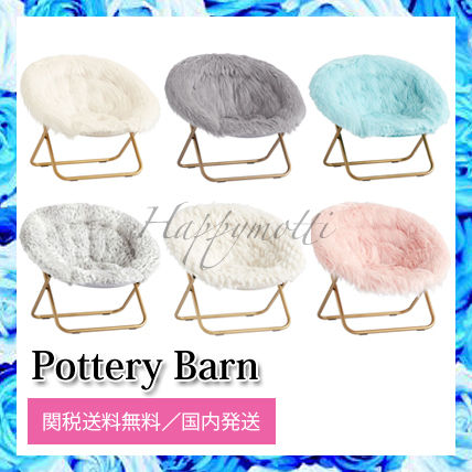 Pottery Barn 椅子・チェア Pottery Barn*ふわふわ★カラフル チェアー○関税・送料無料○
