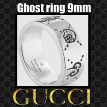 GUCCI グッチ Ghost Ring ゴースト リング9㎜