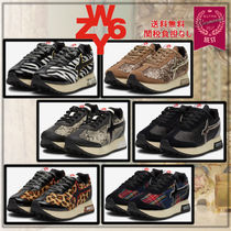 W6YZ(ウィズ) スニーカー イタリア発!大人気!【W6YZ】KIS-W Leather&fabric sneakers