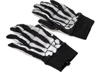 Nike 手袋 FW19 NIKE SKELTON SSOPHERE GLOVES BLACK スケルトン