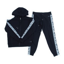 Calvin Klein::ロゴHoodie スウェットセットアップ:S/P[RESALE]