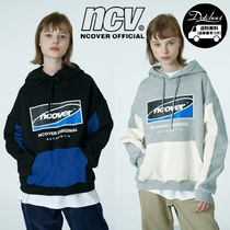 ncover Big Square logo hoodie MH599 追跡付