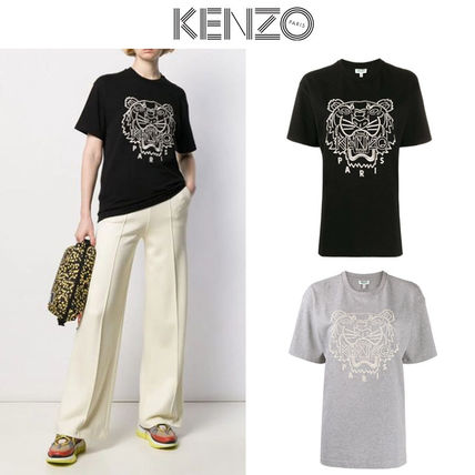 KENZO Tシャツ・カットソー ★安心の国内発送★人気商品★KENZO Tiger embroidered T-shirt