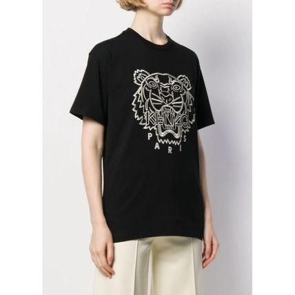 KENZO Tシャツ・カットソー ★安心の国内発送★人気商品★KENZO Tiger embroidered T-shirt(4)