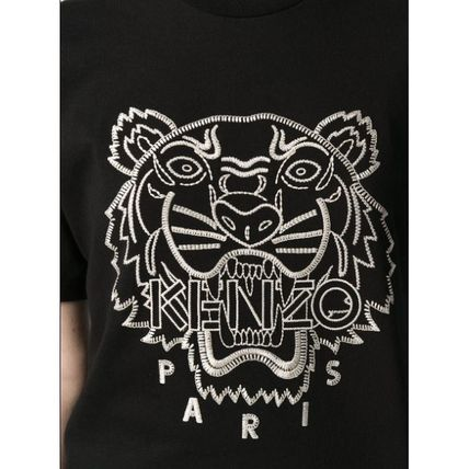 KENZO Tシャツ・カットソー ★安心の国内発送★人気商品★KENZO Tiger embroidered T-shirt(6)