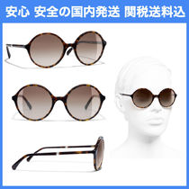 安心の国内発送 CHANEL ROUND SUNGLASSES 5391H