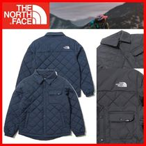 人気★【THE NORTH FACE】KIDS★K'S QUILTED SHIRTS JACKET★2色