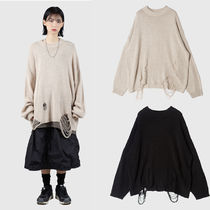 [Raucohouse] UNDER DESTROYED LOOSE SWEATER 2COLOR セーター