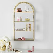 PB teen♡Gold Arched Curio Wall Cabinet♡