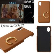 【Chloe】Chloe C Iphone X/XS 対応 レザーcase*