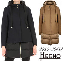 HERNO ヘルノ 異素材MIX ダウン PI1010D ☆2019-20AW☆国内発送