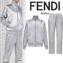 【FENDI】Fendi Prints On★ FF スウェット&パンツ Silver