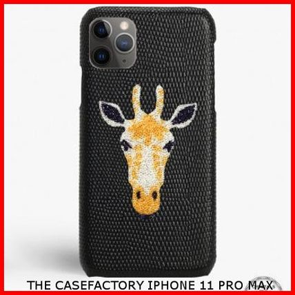 THE CASE FACTORY スマホケース・テックアクセサリー 関税送料込☆THE CASEFACTORY☆IPHONE 11 PRO MAX SWARO GIRAFFE