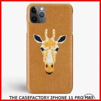 関税送料込☆THE CASEFACTORY☆IPHONE 11 PRO MAX SWARO GIRAFFE