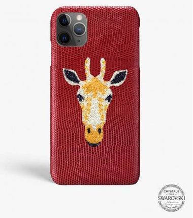 THE CASE FACTORY スマホケース・テックアクセサリー 関税送料込☆THE CASEFACTORY☆IPHONE 11 PRO MAX SWARO GIRAFFE(2)