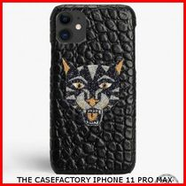 関税送料込☆THE CASEFACTORY☆IPHONE 11 PRO MAX SWARO TIGER