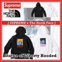 Supreme X TNF The North Face Statue of Liberty Hooded  AW 18