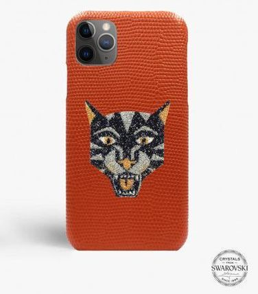 THE CASE FACTORY スマホケース・テックアクセサリー 関税送料込☆THE CASEFACTORY☆IPHONE 11 PRO MAX SWARO TIGER(2)