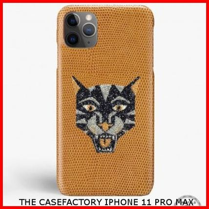 THE CASE FACTORY スマホケース・テックアクセサリー 関税送料込☆THE CASEFACTORY☆IPHONE 11 PRO MAX SWARO TIGER