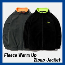 [FCMM] Fleece Warm up Zipup Jacket★日本未入荷★韓国の人気