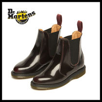 人気【Dr. Martens】FLORA CHELSEA BOOT CHERRY RED_R14650601★