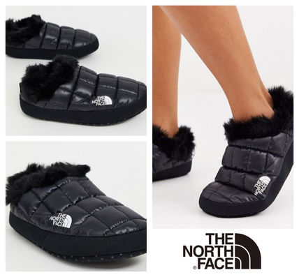 THE NORTH FACE シューズ・サンダルその他 《送料無料》The North Face★Tent faux fur mule slippers