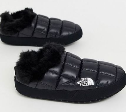 THE NORTH FACE シューズ・サンダルその他 《送料無料》The North Face★Tent faux fur mule slippers(4)