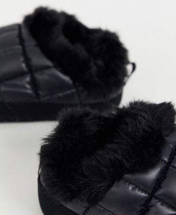 THE NORTH FACE シューズ・サンダルその他 《送料無料》The North Face★Tent faux fur mule slippers(5)
