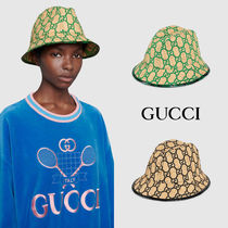 ★GUCCI★ Exclusive GG fedora hat with snakeskin ☆ハット☆