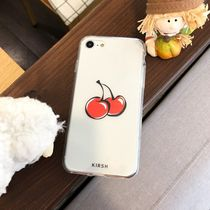 KIRSH IPHONE 全機種 HEART CHERRY JELLY CASE