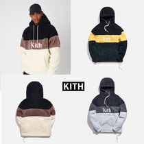 KITH SHERPA DOUBLE POCKET HOODIE FW19