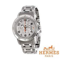 ☆HERMES Clipper Diver 44 Chronograph ウォッチ LIGHT GREY♪