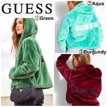 【Guess】●日本未入荷●FAUX-FUR REVERSIBLE JACKET