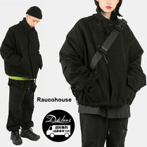 Raucohouse HIGH NECK CROP MILITARY JACKET   KH35   追跡付