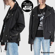 Raucohouse  MATTE LEATHER RIDER JACKET  HK38  追跡付