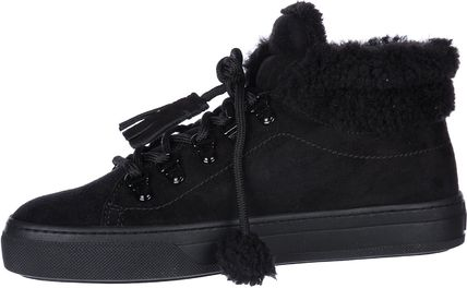 TOD'S シューズ・サンダルその他 TOD'S○SALE25Womens high top suede スニーカー sportivo(4)