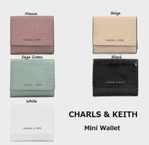 【CHARLS & KEITH】  Mini Wallet 全5色  2019AW