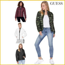 GUESS*ADEN LOGO PACKABLE JACKET ロゴ パッカブル