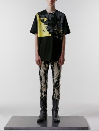 ANOTHERYOUTH Tシャツ・カットソー ☆韓国の人気☆【ANOTHERYOUTH】☆face printing t☆2色☆(2)