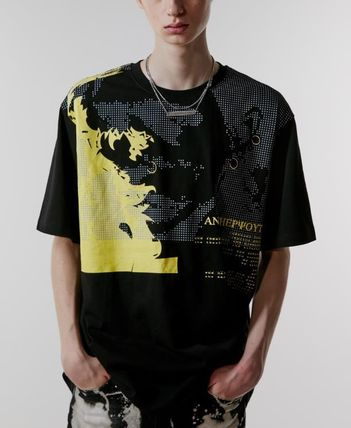 ANOTHERYOUTH Tシャツ・カットソー ☆韓国の人気☆【ANOTHERYOUTH】☆face printing t☆2色☆(5)