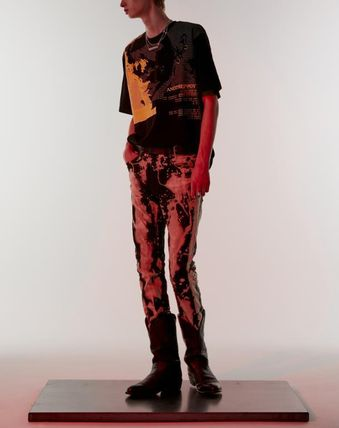ANOTHERYOUTH Tシャツ・カットソー ☆韓国の人気☆【ANOTHERYOUTH】☆face printing t☆2色☆(6)