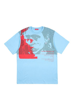ANOTHERYOUTH Tシャツ・カットソー ☆韓国の人気☆【ANOTHERYOUTH】☆face printing t☆2色☆(14)