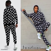 ◆NEW◆boohoo◆ リピートプリント セットアップ