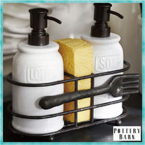 関税送料込*Pottery Barn*CUCINA FORK SOAP & LOTION CADDY