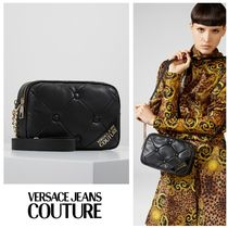 Versace Jeans Couture☆キルティング ロゴ クロスボディバッグ