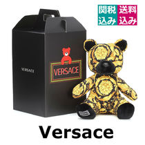 プレゼントに最適☆VERSACE KIDS ☆Printed teddy bear