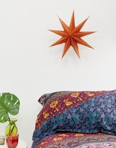 Ian Snow 9 point glitter star lampshade
