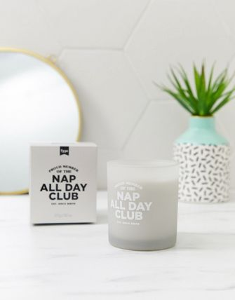 ASOS キャンドル Typo nap all day club candle